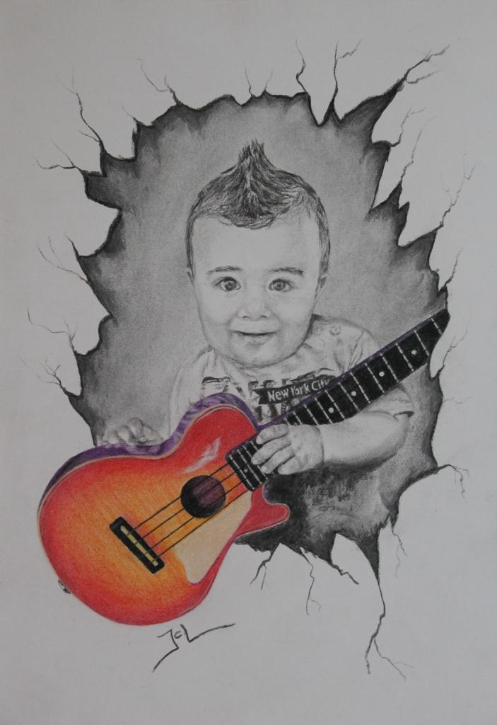 baby guitar hero